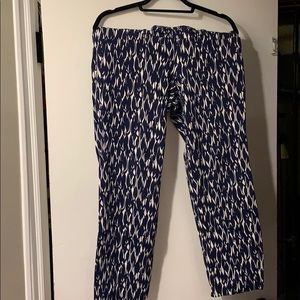 Lilly Pulitzer Fish Stretch Pants